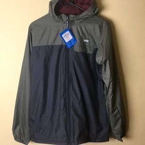 Columbia Boys Jacket 18/20 XL Lined Windbreaker
